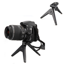 Universal Folding DSLR Camcorder Tripod Mini Selfie Camera Holder Tripod Portable Cameras Mount Bracket Tripod Camera Holding