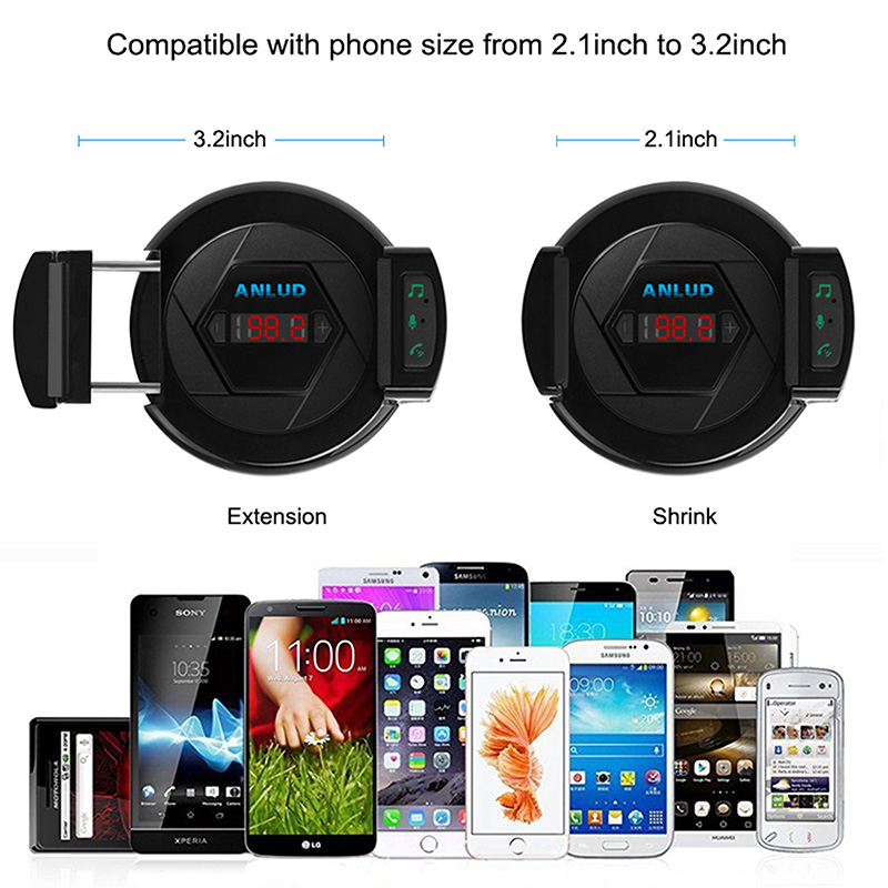 car phone holder fm transmitter (6)