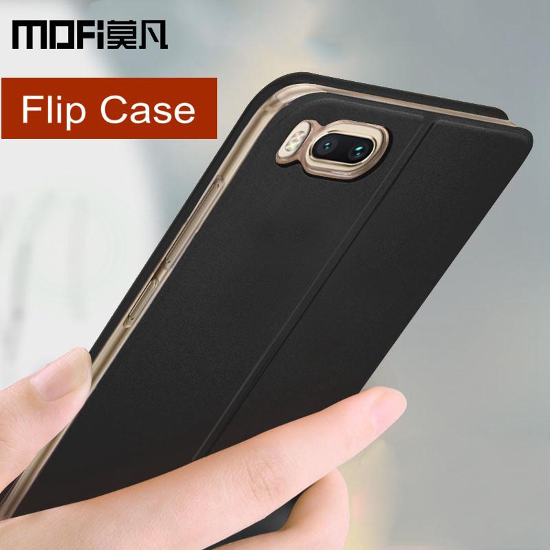 Xiaomi-mi6-case-cover-Xiaomi-mi-6-back-cover-leather-accessories-protective-phone-capas-MOFi-original