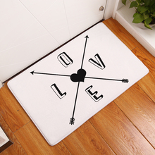 2017 New Geometric Arrows Print Carpets Non-slip Kitchen Rugs for Home Living Room Floor Mats 40x60cm