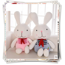 Miccidan plush rabbit ty dolls mamas papas soft toys ty plush animals spongebob kids toys cute pillow  valentine day gifts