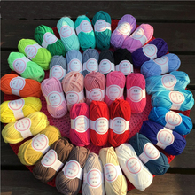 New Fancy Yarns 100g/pc Hand Knitting Thick Thread Crochet Candy Color Cloth Yarn Ribbon Hand-knit Wool For Mat Hat Craft