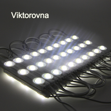 20pcs LED modules store front window light sign Lamp 3 SMD 5630 5730 Injection white ip68 Waterproof Strip Light led backlight(China)