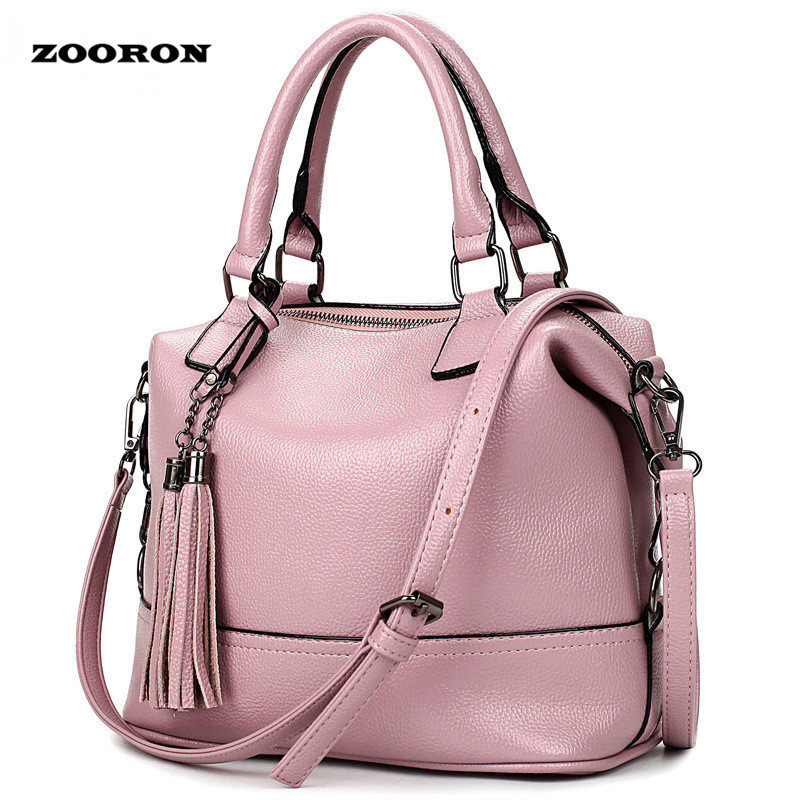 2017 the new Europe and the United States Boston handbag women leather handbag cowhide shoulder crossbody bags the pillow pack<br><br>Aliexpress