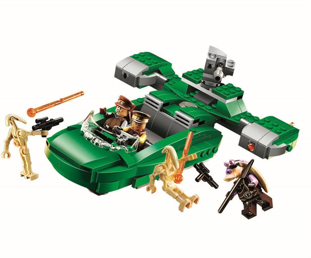 Bela 10463 Star Wars Flash Speeder Building Blocks Kids Bricks Toys figurebrick  Compatible with <br><br>Aliexpress