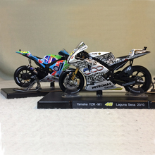 LEO 1:18  Number 46 Motorcycle Model Yamaha Honda Ducati MotoGP No46 Rossi Motorcycle Toys Best Birthday and Festival Gift