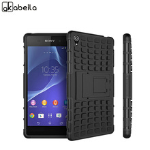 Buy AKABEILA Military Armor Kickstand Case Cover Sony Xperia Z3 L55U D6653 L55T D6616 D6633 D6603 D6643 Case 2 1 Hybrid Skin for $3.16 in AliExpress store