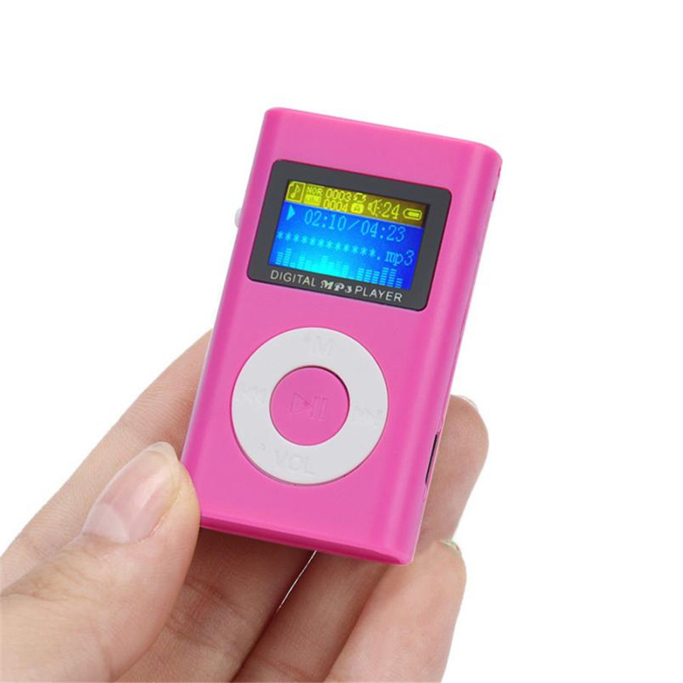 YKSO Mini MP3 Music Player USB LCD Screen MP3 Portable audio Support 32GB Micro SD TF Card sport Headphones MP3 Player (23)