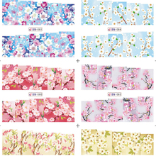 36pcs Water Transfer Nail Sticker Flower Decals Full Cover Rose Peony Flower Nail Art Water Decals(China)