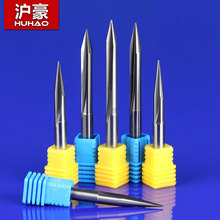 6mm SHK Carbide Alloy Double Flutes Straight V Engraving Tools Two Flutes Straight V Bits Hardwood Straight V Cutting Milling(China)