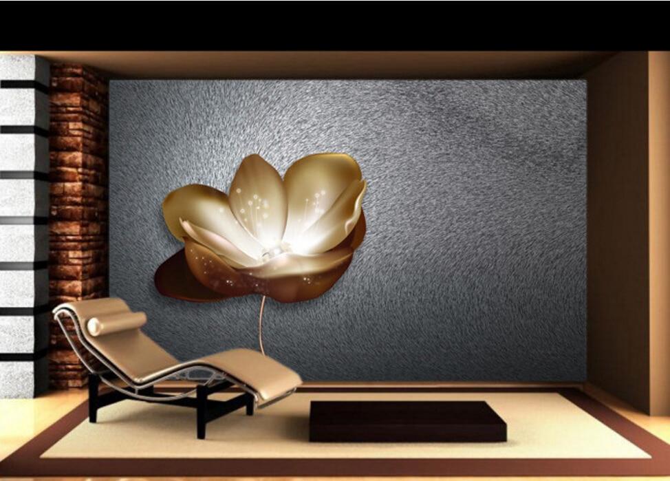 Custom floral wallpaper,Pearl flowers,3D stereoscopic wallpaper for living room backdrop restaurant bedroom waterproof wallpaper<br>