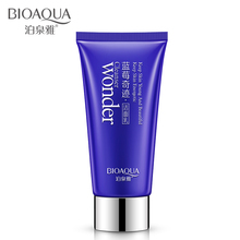 BIOAQUA Blueberry Wonder Facial Cleanser Plant Extract Facial Cleansing Rich Foaming Face Cleanser Moisturizing Face Skin(China)