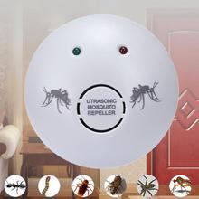 110V Electronic Ultrasonic Mosquito Repeller Rats Spiders Pest Control Killer Cockroach Trap Insect Rats Spiders Reject(China)