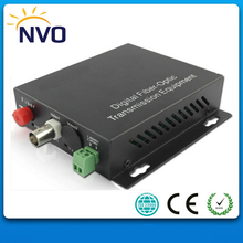 20KM,FC,1ch Reverse Data, 2channel CCTV Digital Optical Fiber Optic Video Converter(China)