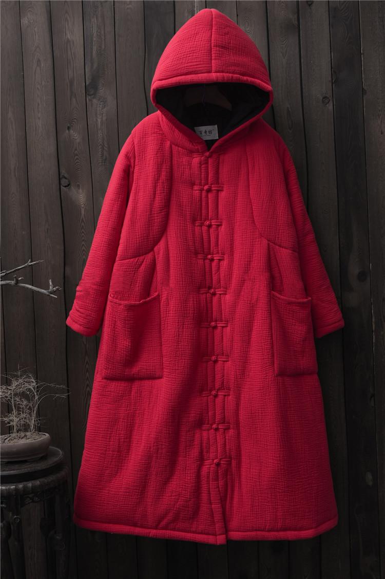 female winter hooded cape (10)