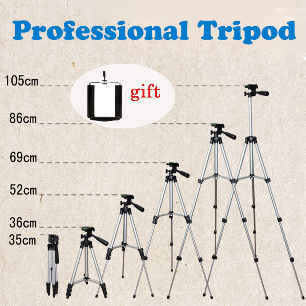 NIERBO Aluminum alloy Camera Tripod Stand with Rocker Arm Vogue Flexible Tripod for Camera Phone Gopro Projectors Load up 3.0kg(China (Mainland))