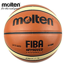 2017 Official Original Molten GG7X Basketball Ball NEW Arrival  Basket Ball PU Leather Size 7 Basketball With Gifts Of  Pin&Net