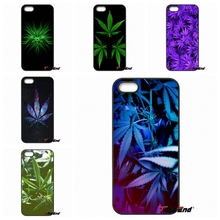 Smoke Weed Pot Leaf Custom Design Phone Case Cover For iPhone 4 4S 5 5C SE 6 6S 7 Plus Galaxy J5 J3 A5 A3 2016 S5 S7 S6 Edge