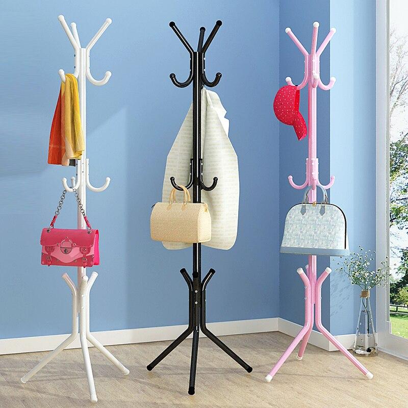 Modern minimalist fashion livingroom storage closet multifunctional stainless steel hanger hat rack creative furniture coat rack<br>
