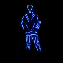 Customized Size Full Color Led Lighting Jacket/Clothing/Wear Led Robot  Luminous Costume With Led Mask For Stage Show Ballroom