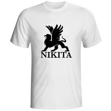 Nikita Popular TV Show Logo Funny Design T Shirt Popular Pop T-shirts Cool Fashion Style Male Dropshipping Clothes Tops Tees(China)