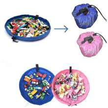 Newest New HOT Storage Bag Toys Organizer Rug Box For Dolls Portable Kids Play Mat  Levert Dropship dig662