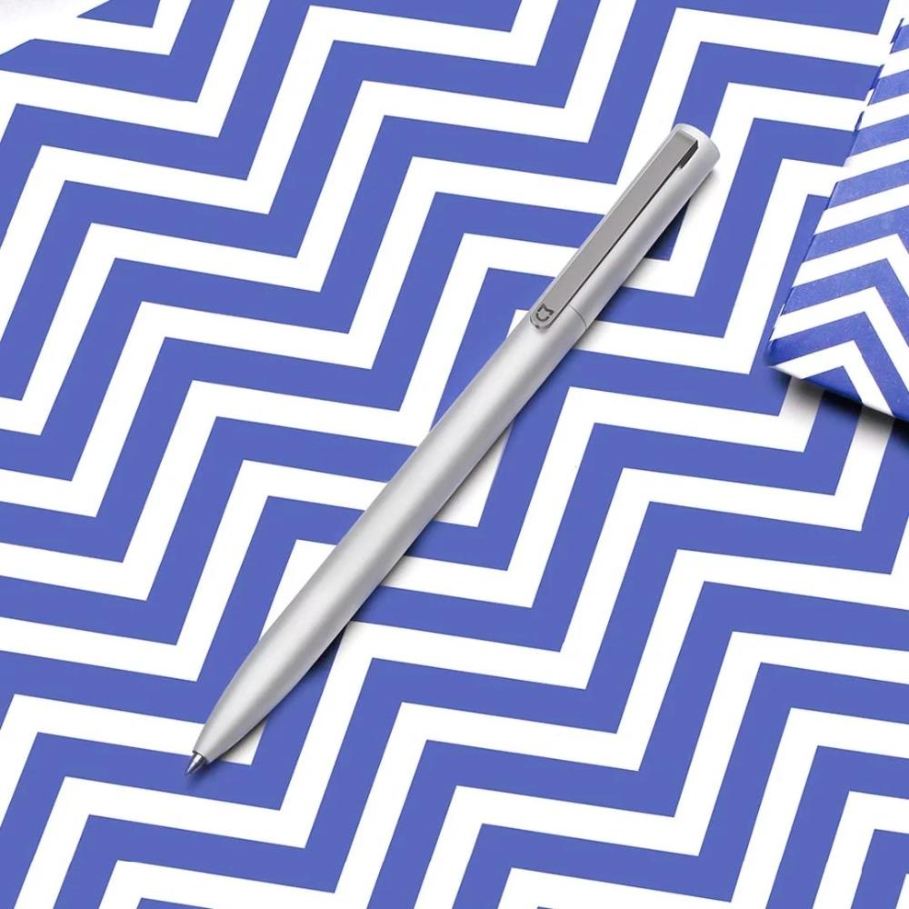 New-Original-Xiaomi-Mijia-Metal-Sign-Pen-9-5mm-Signing-Pen-PREMEC-6 Smooth-Switzerland-Black-Refill
