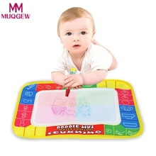 29X19cm Mini Water Drawing Mat Toys for Children Aquadoodle Mat&1 Magic Pen/Water Drawing Board/Baby Play Mat(China)