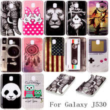 Dreamcatcher Owl Bird Smoking Monkey Retro Tape IMD Pattern TPU Case for Samsung Galaxy J3 2017 J330 J5 2017 J530 J7 2017 J730