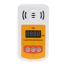 Portable gas detector for carbon monoxide(CO) gas Mini CO gas analyzer gas meter with Sound and Light Alarm leak detector