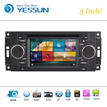 Car DVD Player System For Chrysler 300C Pt Criser/ Dodge RAM/ Jeep Grand Cherokee Car Radio Stereo GPS Navigation Audio Video