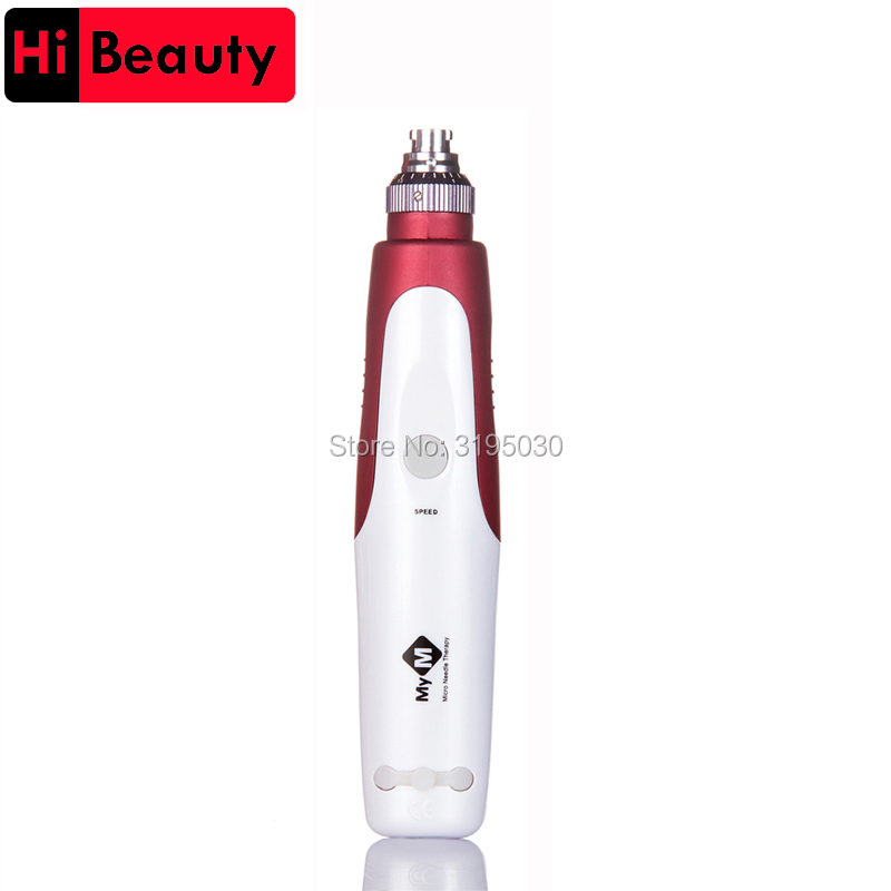 Hight Quality 1PC Rechargable Electric Auto Micro MTS Nano Needle Tattoo Derma Therapy Makeup Pen Gun Instrument Tools<br>