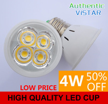 4W LED light cups LED lamp cup led bulb integration lens E27 G5.3 factory outlet wholesale Cold white Warm white free shipping