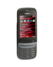 Refurbished Original C2-03 Unlocked Nokia C2-03 mobile phone ,black and white you can choose(China)