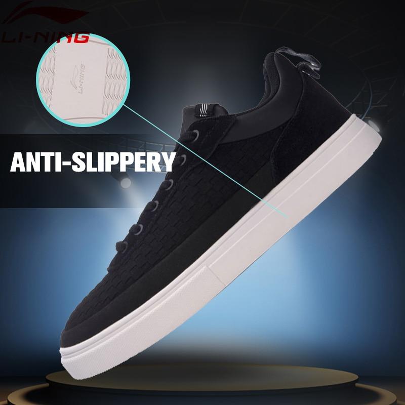 Li-Ning Men Sports Life Series Walking Shoes Anti-Slippery LiNing Sneakers Wearable Sports Shoes GLKM087 YXB089<br>