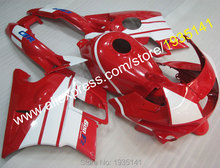 Hot Sales,Custom Fairing For Honda CBR600 F2 1991 1992 1993 1994 CBR 600 F2 91 92 93 94 CBR600 Red White Motorcycle Fairing Kits