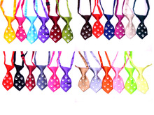 30pcs/Lot New Night Safety Flashing Glow  Pet Dog Neckties Bowtie  Mix Patterns Polyester Cute Dog Neckties Dog Grooming Product