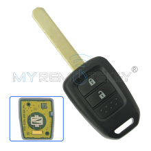 Remtekey remote key 2 button car key for Honda key 433.9 Mhz HON66 Jazz 2013 2014 2015(China)