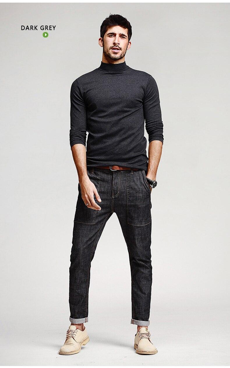 HTB19ZJhNFXXXXaNXVXXq6xXFXXXw - KUEGOU Mens Casual T Shirts 5 Solid Color Brand Clothing For Man's Long Sleeve Slim T-Shirts Male Wear Plus Size Tops Tees 803