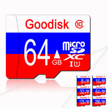 Memory 128GB Russian flag Micro Sd Card 8gb 4gb Memory Card Cards Memoria Class10 Mini Sd Flash TF Card Micro Sd 16g 32g 64g