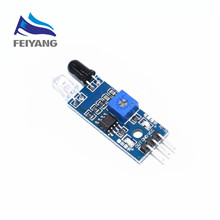 1PCS SAMIORE ROBOT New Diy Smart Car Robot Reflective Photoelectric 3pin IR Infrared Obstacle Avoidance Sensor Module