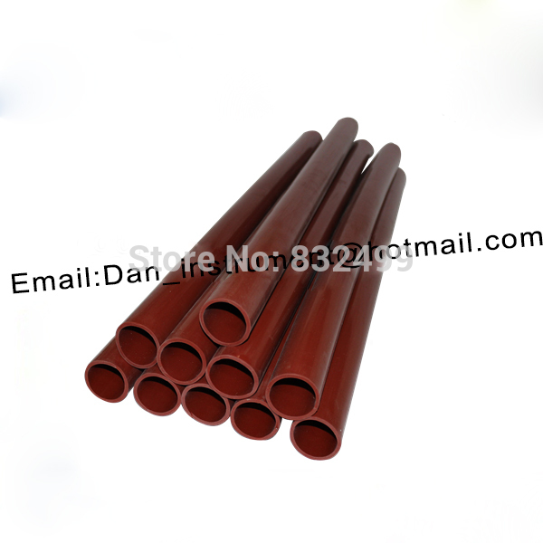 High quality silica roller tube , silicone sleeve for corona treater<br>