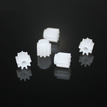 30pcs 9teeth/2mm hole/OD 5.5/0.5M/plastic motor gear/rc car/hot wheel/DIY toys accessories/technology model parts/baby toys/92Aj