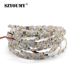 Fast Ship New Bendable Shapable Turn Into Angles LED Strip Light 2835 SMD White S PCB 12V  5M 300LED 50M DHL  FEDIX UPS