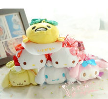 Best Sale Tsum Tsum Kimono Sanrio TSUM Kitty Melody MR.Egg Mini tsum Plush Collection Cute Doll Toys