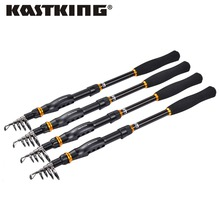KastKing 2017 Hot sale KastKing High Carbon Saltwater Telescopic Fly Fishing Rod 1.8M-3.6M Pesca Carp Rod Spinning Fishing Pole(United States)