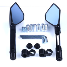 1Pair Universal Motorcycle Backup Rearview Mirrors motorcycle accessories motorcycle mirror for Honda for Suzuki for Yamaha