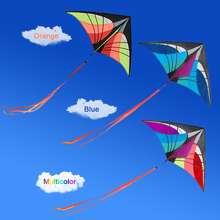 160 x 90cm / 63 x 35.5in Large Delta Kite Outdoor Sport Single Line Flying Kite with Tail Funny toys for Children Adults(China)