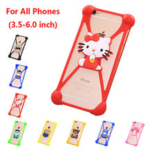 3D Phone Cases For Asus Pegasus 2 Plus Minions Garfield Rubber Case For Asus Pegasus 2 Plus Silicone Minnie Anti-knock Cover