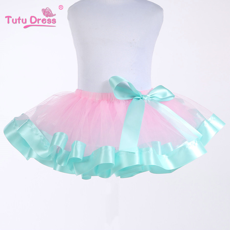 Baby Girls Tutu Skirt Fluffy Children Ballet Kids Pettiskirt Baby Girl Skirts Princess Tulle Party Dance Skirts For Girls Cheap(China (Mainland))